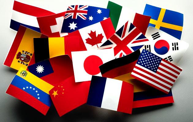 Flagi krajów